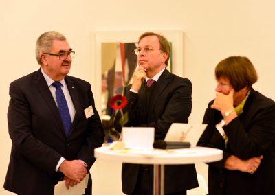 Thomas Rachel mit Vorstandsmitgliedern