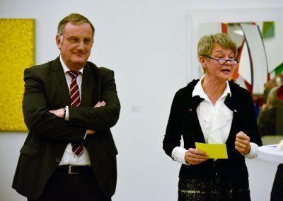 Bürgermeister Paul Larue, Gerda Graf