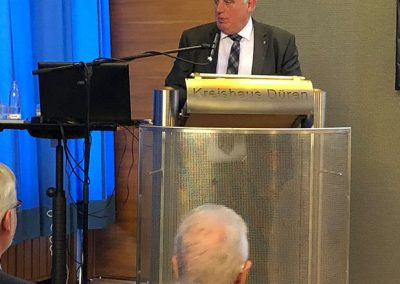 Begrüßung durch Minister Laumann, NRW