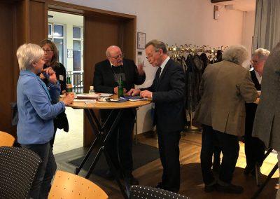 Toni Straeten mit Franz Müntefering